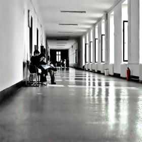College corridor (10:01)