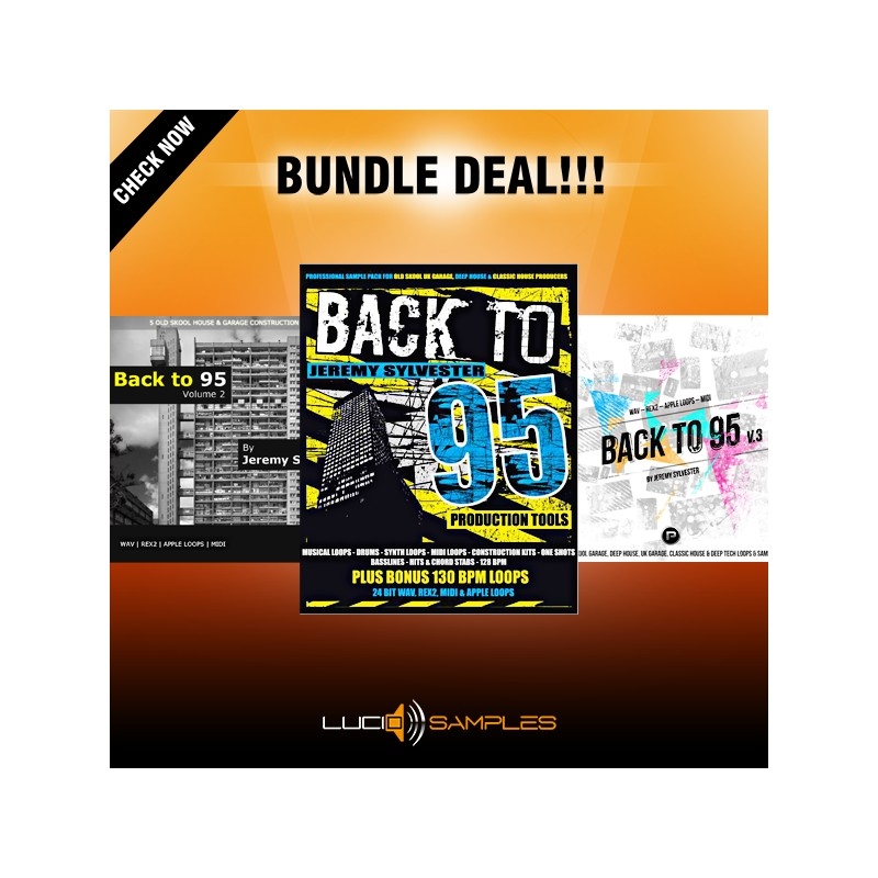 Back To 95 Bundle (Vols 1-3 - 35% OFF!)