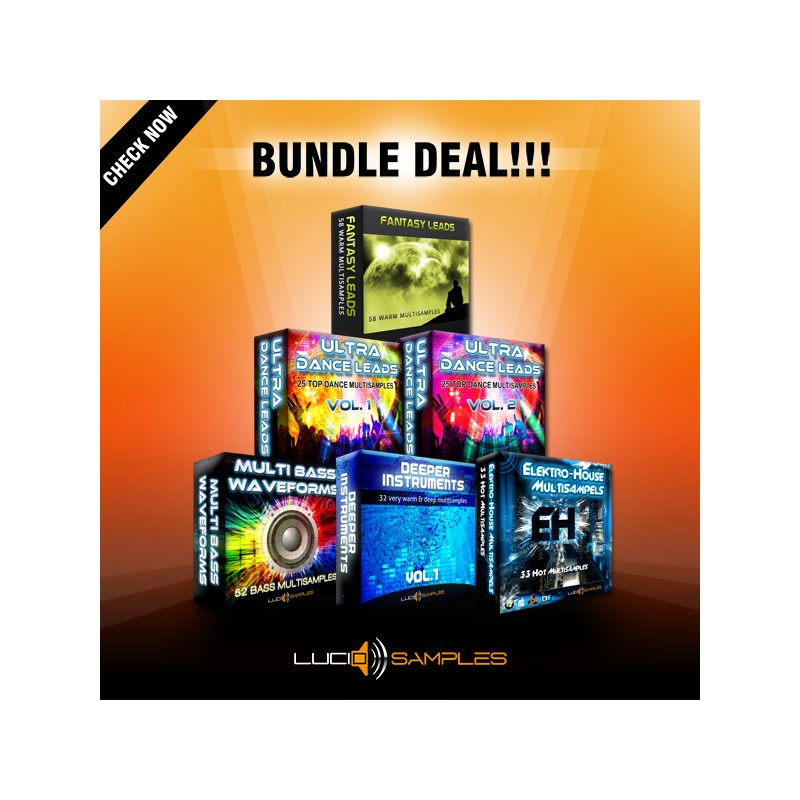 Multi Synth Sounds Bundle (6 in 1 - 40% OFF!)
