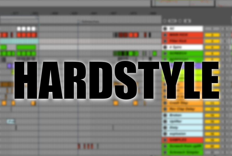 Hardstyle samples in Ableton