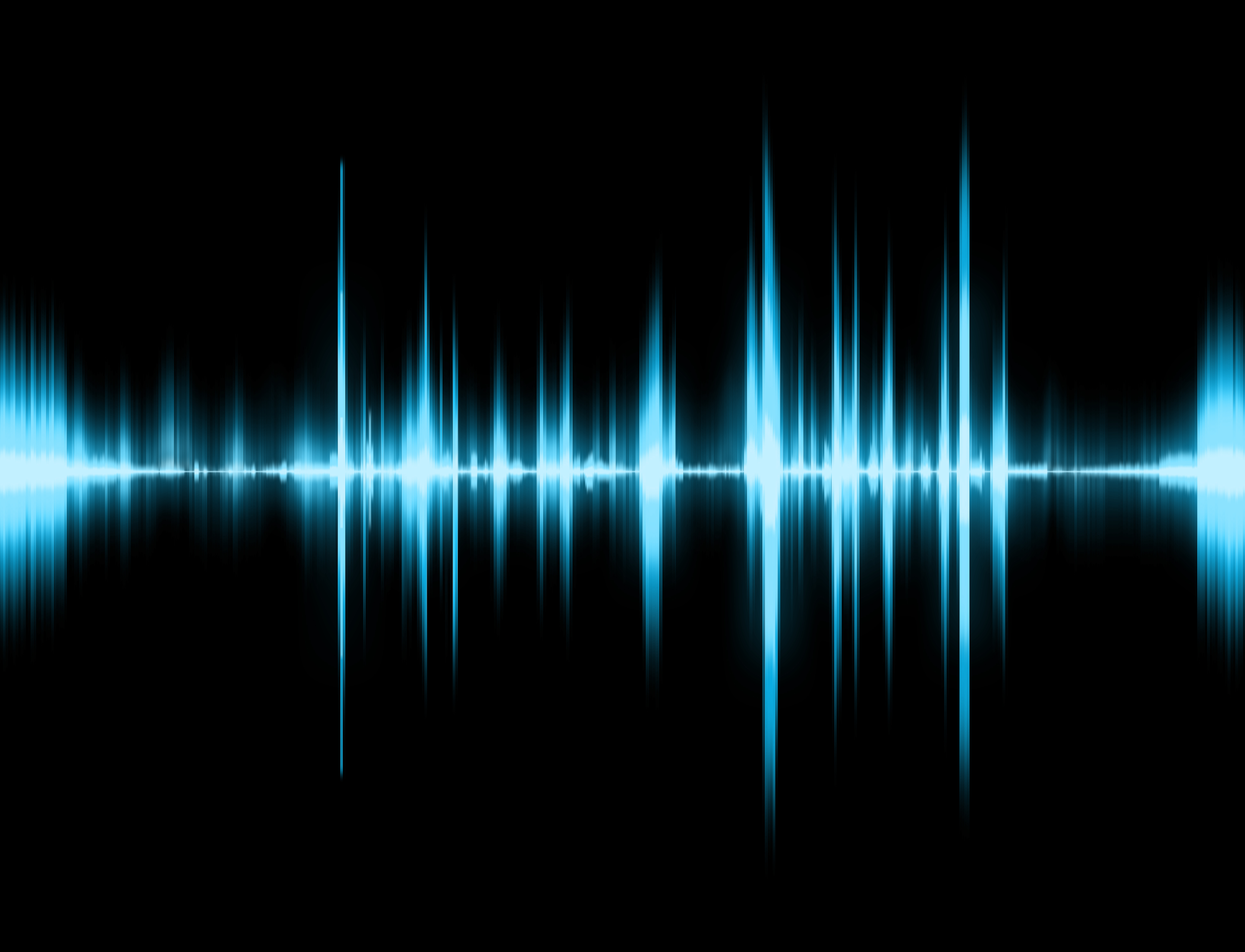 Sound effects wave visualisation image